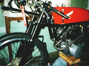 Honda RC115 replica